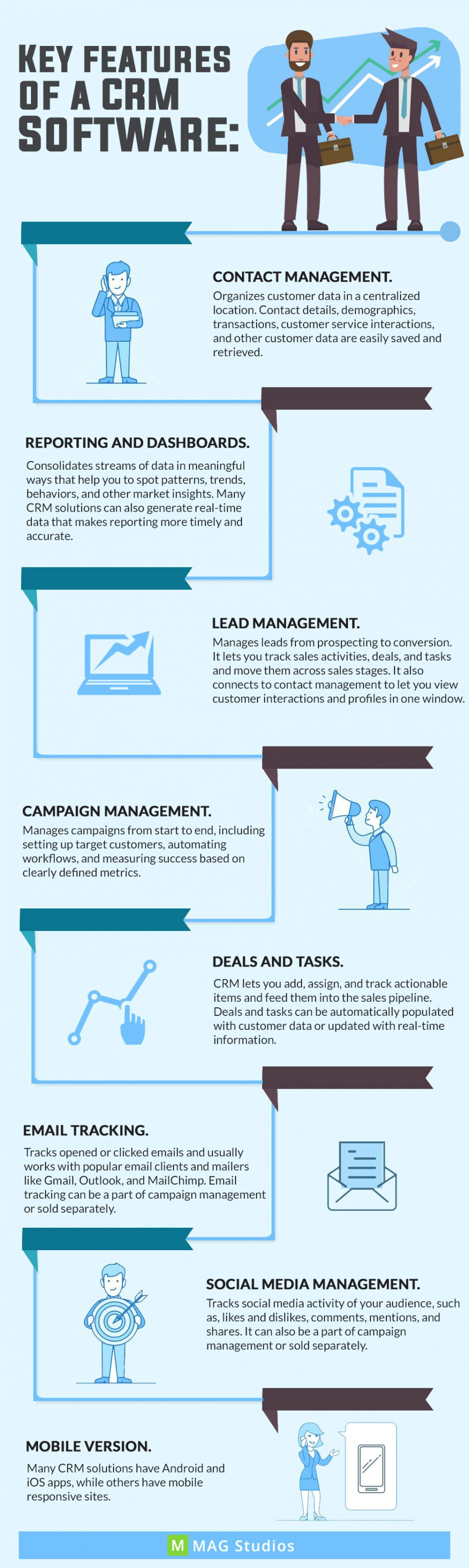 Best Features of CRM systems