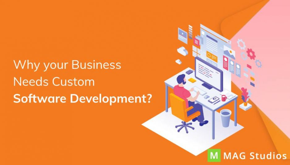 Why your business needs custom software development?