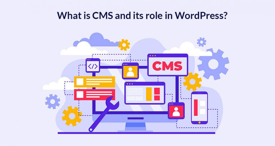 What is CMS and its role in WordPress?